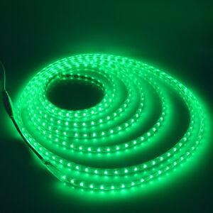 SMD 5050 LED Strip 220V 240V Flexible Tape Rope Light 1M-10M Waterproof 60leds/m