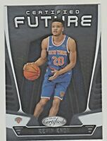 2018-19 Panini CERTIFIED FUTURE #CF-9 KEVIN KNOX RC Rookie New York Knicks