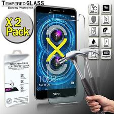 2 Pack Real Tempered Glass Screen Protector Cover For Huawei Honor 6X