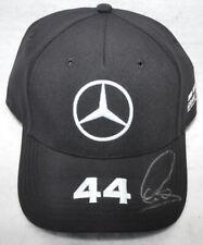 Lewis Hamilton Signed Lewis Hamilton Mercedes Black F1 Cap / Hat