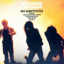 ACCEPT - No Substitutes (CD 1992) RARE USA Import EXC OOP Best of/Greatest Hits