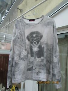 Butler and Wilson Top with Puppy (L)