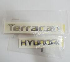 2001 2002 2003 2004 2005-2007 HYUNDAI TERRACAN OEM TERRACAN & HYUNDAI Emblem Set