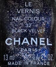 chanel nail polish 32 BLACK VELVET harajuku limited edition only tokyo 2002 BNIB