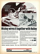 1970 Holley Ignition System Danny Ongais & Mickey Thompson Print Ad