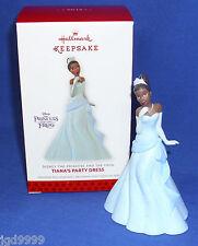 Hallmark Ornament Disney The Princess and the Frog Tiana's Party Dress 2013 NIB