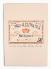 Crown Mill Luxury A5 Writing Paper Pad 50 Sheets PINK