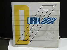 DURAN DURAN Is there something i should know? 11C 008 65089 PORTUGAL