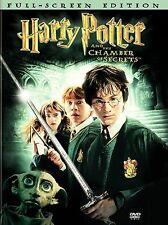 Harry Potter and the Chamber of Secrets (DVD, 2003, 2-Disc Set, Full Frame)