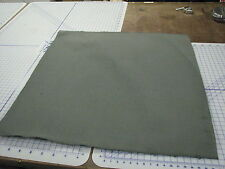 "military 42"" wide by 36"" cotton duck grey US army heavy 3LBS 4 yds in 2 pcs"