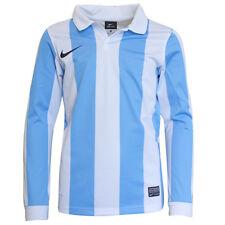 NIKE MANGA LARGA ENTRE RAYAS Top Fútbol los niños Azul 448252 412 dd98