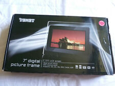 "TEXET 7"" DIGITAL PICTURE FRAME Boxed  3400 pictures on sd card"