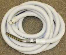 Central Vacuum Extra Long Hose 30' Low Voltage Metal Band Cuff Crush proof