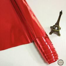 Zaione Metallic Mirrored Leather PU Leatherette Fabric Bows Faux Foil Material