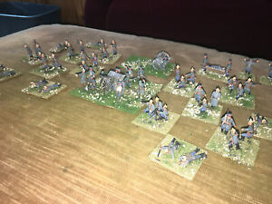 53 Painted  - 1/72 WWI German Infantry w MG & Field Artillery - Caisson NICE !