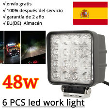 6X 48W LED Faros de trabajo de la luz de camiòn Làmpara de coche light 12V 24V