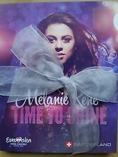 EUROVISION 2015 SWITZERLAND Melanie Rene TIME TO SHINE CD presskit