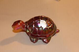 Fenton Carnival Glass Turtle