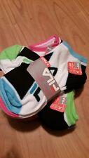 Fila youth girls ankle socks 3 packs