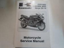 2008 Kawasaki ZZR1400 ABS Ninja ZX-14 Motorcycle Service Repair Shop Manual NEW
