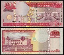 REPUBBLICA Dominicana 1000 PESOS (P180b) 2009 UNC