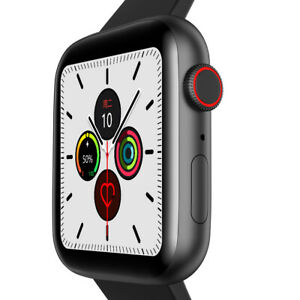 2021 Smartwatch W34+ Answer/Make Call iPhone Android Step count Loud volume UK