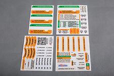 DJI Phantom 3 Standard Yellow/Green Sticker Combo Set ID Marking Decal