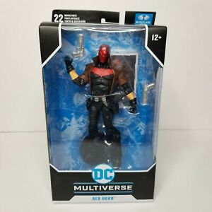 """McFarlane Toys DC Multiverse Red Hood New 52 7"""" Action Figure Damaged Box Sale"""