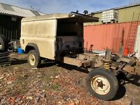 Land Rover defender 110, parts only