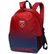 West Ham United FC Fade Backpack Fan Rucksack Tasche LGEPFADEBPWHM rot blau neu