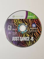 Just Dance 4 (Microsoft Xbox 360, 2012) - DISC ONLY - Kinect Game