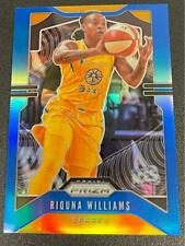 2020 Panini WNBA Prizm Riquna Williams Blue Prizm Base 86/149