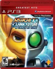 Ratchet & Clank Future: A Crack In Time [PlayStation 3 PS3, Greatest Hits] NEW