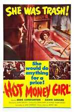 Hot Money Girl Poster 01 A3 Box Canvas Print