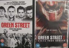 GREEN STREET 1 & 2 [One,Two] Elijah Wood Football Hooligan Thriller DVD *EXC*