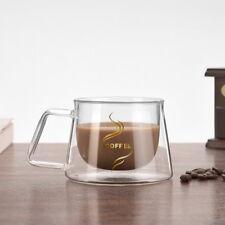 Doppelwandige Gläser Kaffeetasse Teetasse Glas Thermoglas Teegläser 200ml Tasse