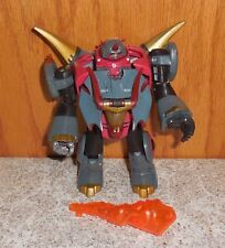 Transformers Animated Dinobot SNARL Complete Lot