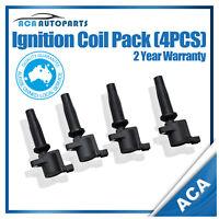 4 x Ignition Coil Coils fit for Mazda 3 BK 2.0L 2.3L LF-DE & SP23 2.3L L3