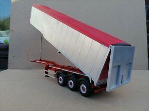 1:32 Bulk Tipping Trailer Model Kit Farm Truck Welly Marge Scratch Build