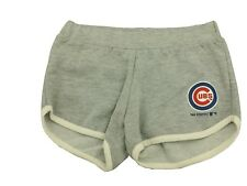 MLB Chicago Cubs Youth Size Girls Shorts Sweat Shorts Official Merchandise NWT
