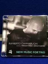 NEW UNSEALED Ramberto Ciammarughi - New Music for Trio (2013) Damaged Case Jazz
