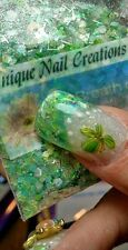 Limited Edition Glitter Mix~A Breath Of Fresh Air* Comes With Alloy~ Nail Art