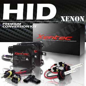 New Xentec Xenon HID Kit Headlight & Fog Lights Conversion Kit All Size & Color