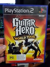 Guitar Hero World Tour (No Booklet) - PLAYSTATION 2 PS2 -  FREE POST