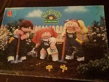 Cabbage Patch Puzzle_16×11_Milton Bradley_1984_Kids Puzzle_Garden_Gardening