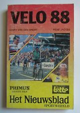 Annuaire VELO 1988. Harry Van den Bremt, Jacobs. 344 pages