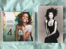 Whitney Houston postcard + Free REMIX CD How will I know, Million dollar Bill