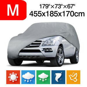 M Full Car SUV Cover Waterproof Outdoor Rain Snow Dust UV Resistant Protection