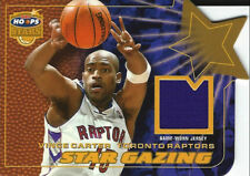 2002-03 Vince Carter Hoops Stars Star Gazing Jersey GOLD #40/50 Toronto Raptors
