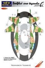 LF Models Decals 1/72 SUKHOI Su-30 MK2 OVER UGANDA
